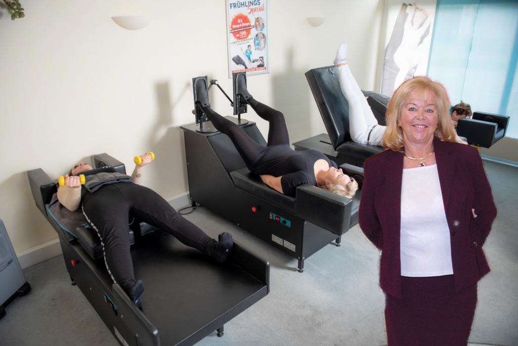 BodyShapen hilft nicht nur gegen Rückenschmerzen , sondern hält den gesamten Körper fit!