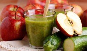 Apfel Zucchini Lunch