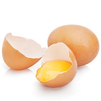 Shapeline-Eiweiß-Eier