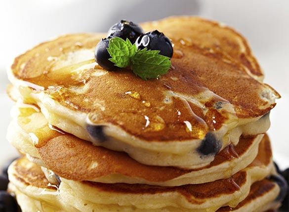 Eiweiß Pancakes