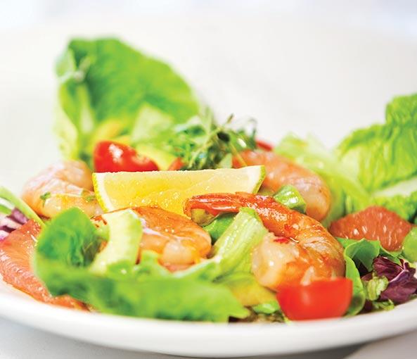 Shapeline - Garnelen Salat