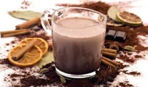 Heiße Weihnachtsschokolade | Schoko Molke-Drink