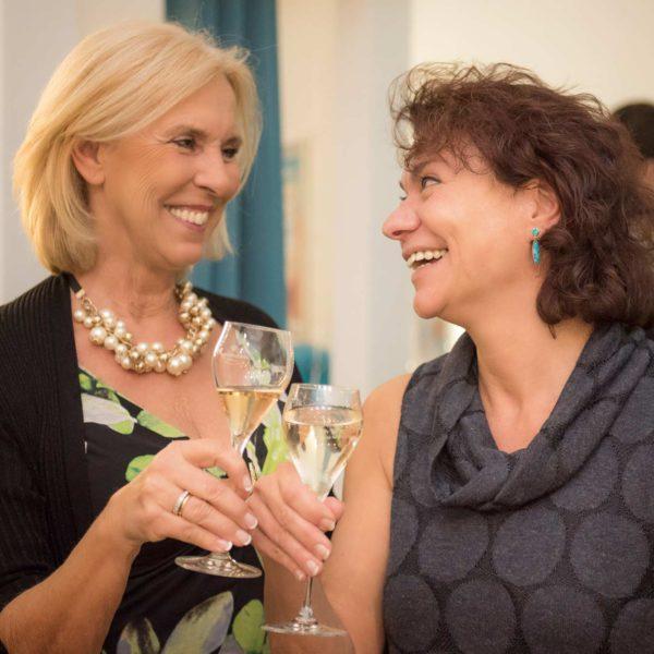 … und gratulierte Sonja Engl zur erfolgreichen Studio-Eröffnung
