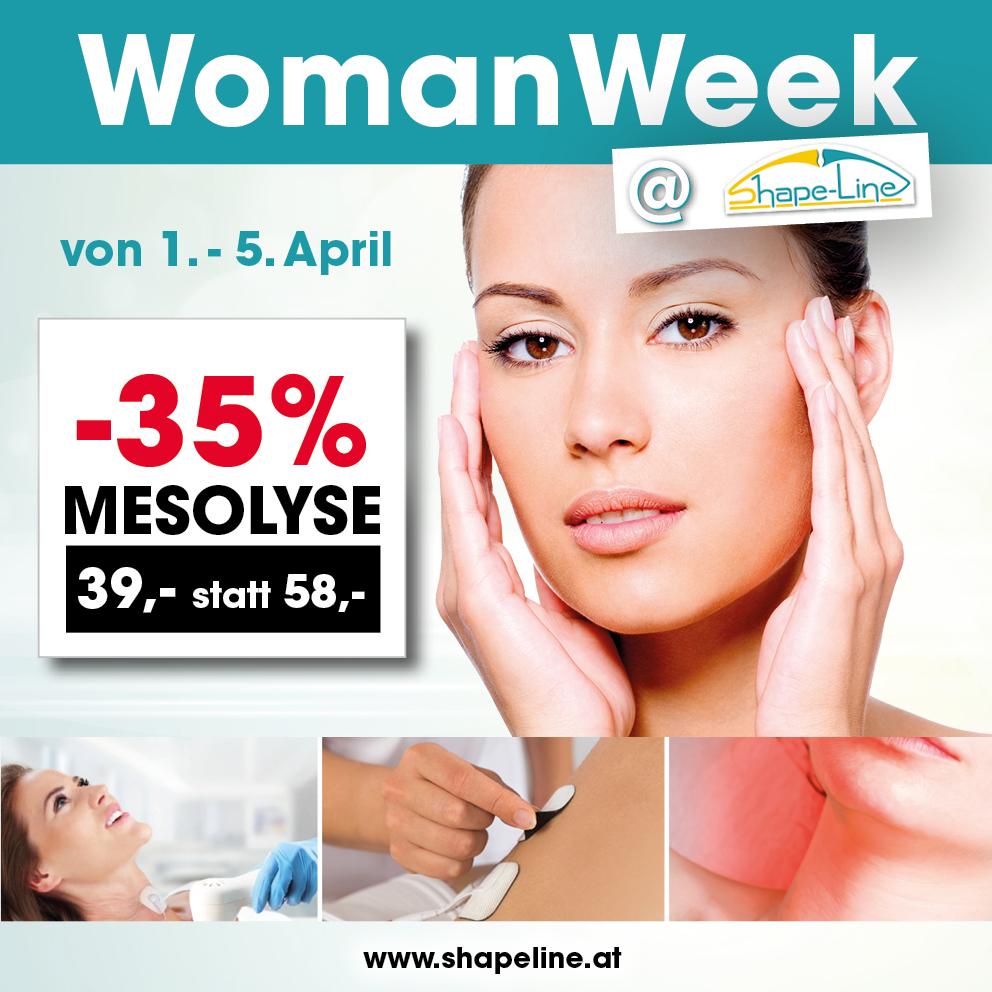 Woman Week 2019 bei Shape-Line